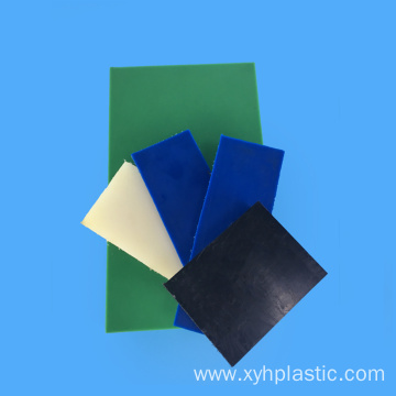 High Grade Thin Colorful 1cm Nylon6 Board
